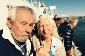 Eyolf og Kristin på dekk